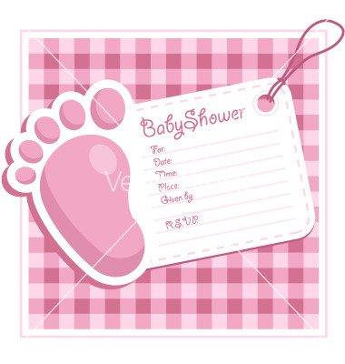 Baby Shower Card Template Templates