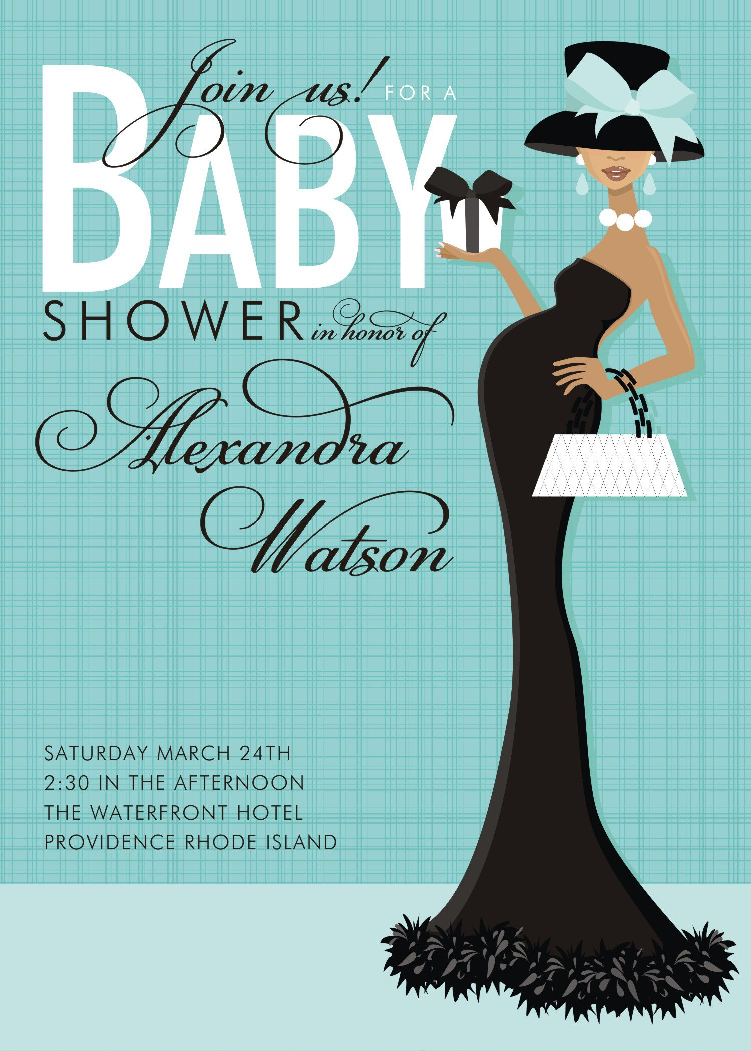 Baby Shower Invitation Free Template Templates
