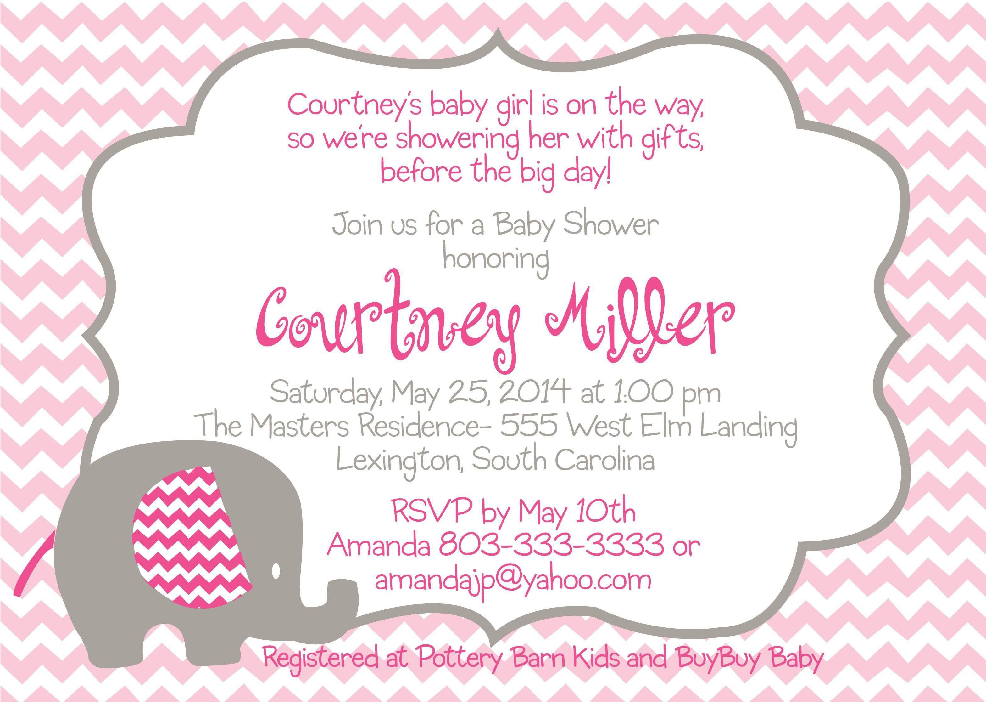 Baby Shower Invitation Free Template the Fascinating Free Baby Shower Invitation Templates