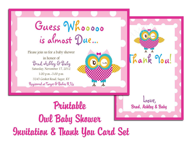 Baby Shower Invitation Template Blog