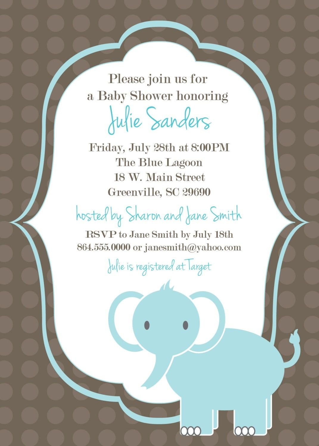 Baby Shower Invitation Template Download Free Template Got the Free Baby Shower
