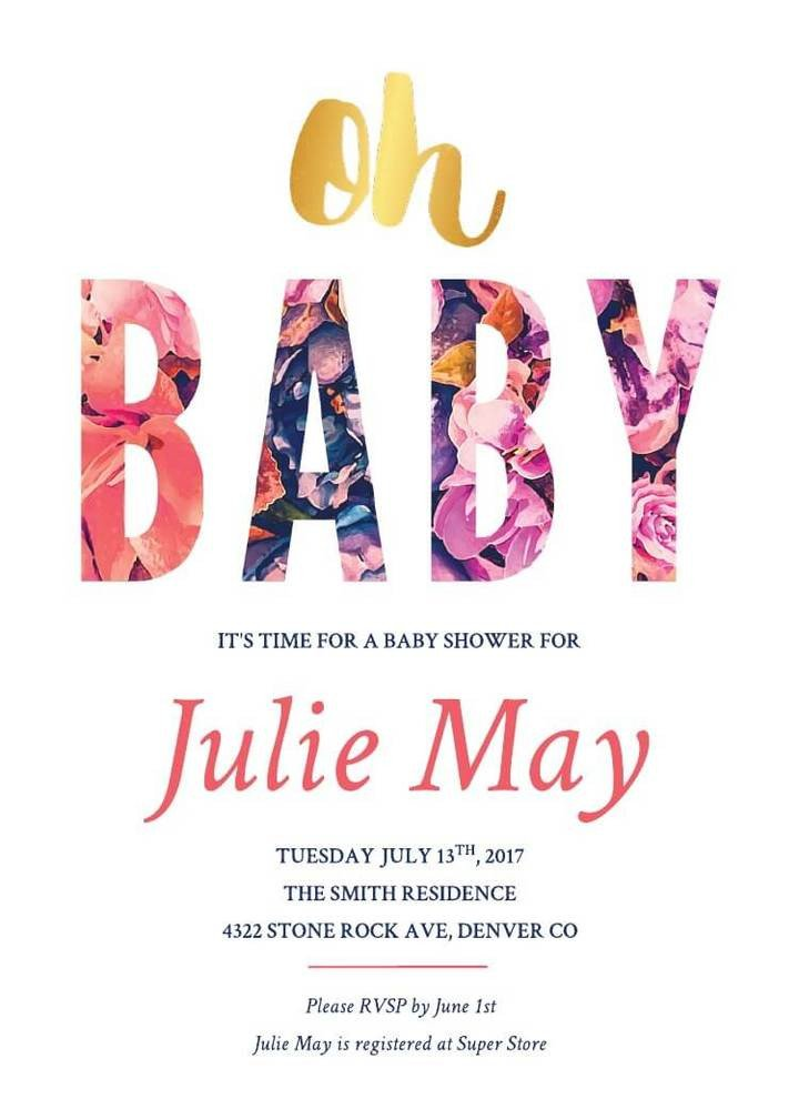 Baby Shower Invitations Templates Editable 16 Free Invitation Card Templates & Examples Lucidpress