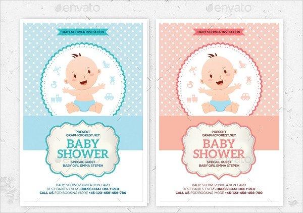 Baby Shower Invitations Templates Editable 25 Sample Baby Shower Invitations Word Psd Ai Eps