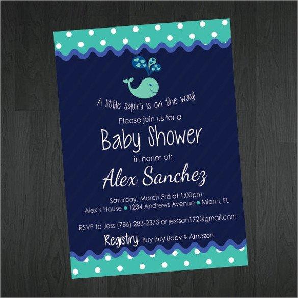 Baby Shower Invitations Templates Editable 25 Sample Printable Baby Shower Invitation Templates