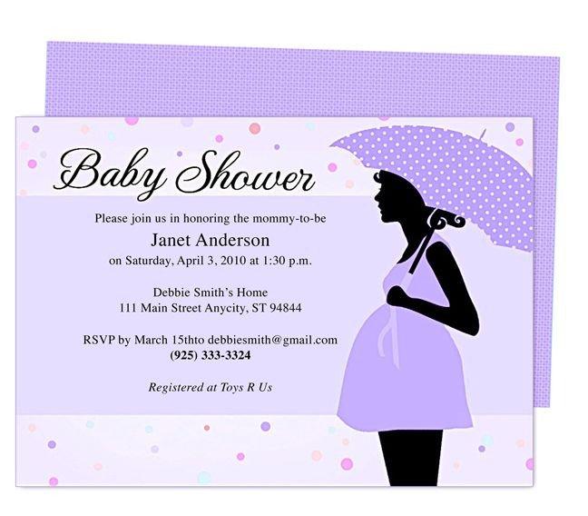 Baby Shower Invitations Templates Editable Cute Maternity Baby Shower Invitation Template Edit