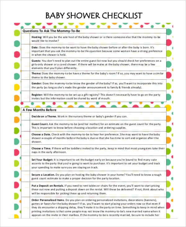 Baby Shower Planning Checklist Bathroom Baby Driverlayer Search Engine