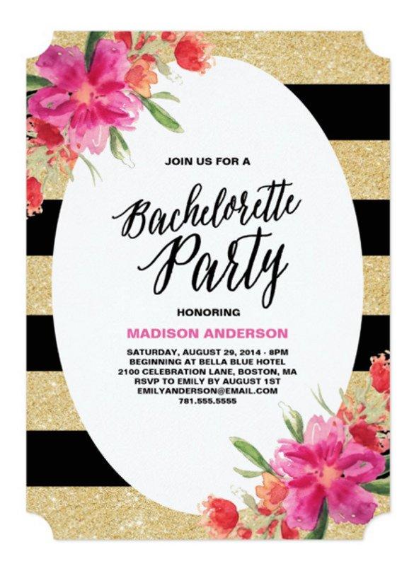 32 Bachelorette Invitation Templates PSD AI Word