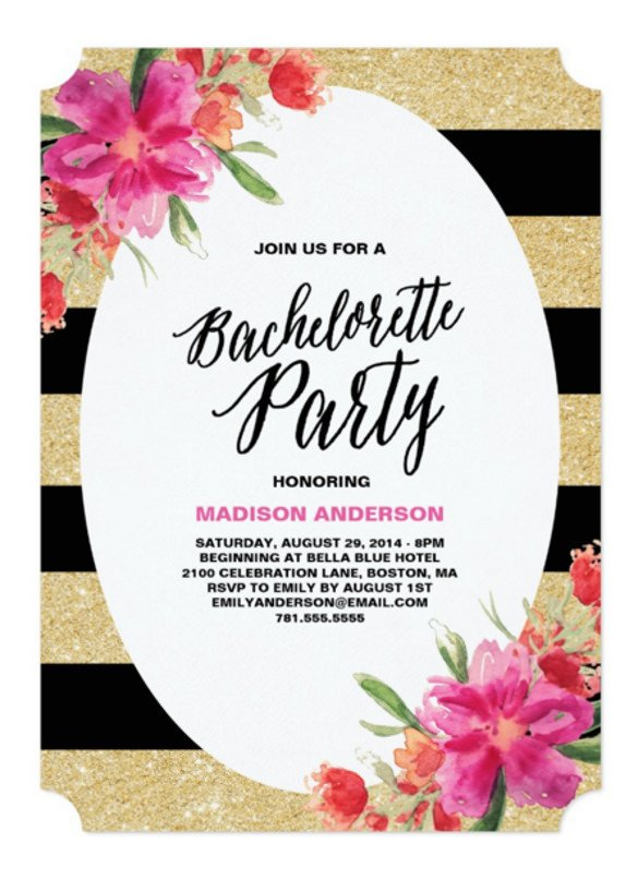 32 Bachelorette Invitation Templates PSD AI Word