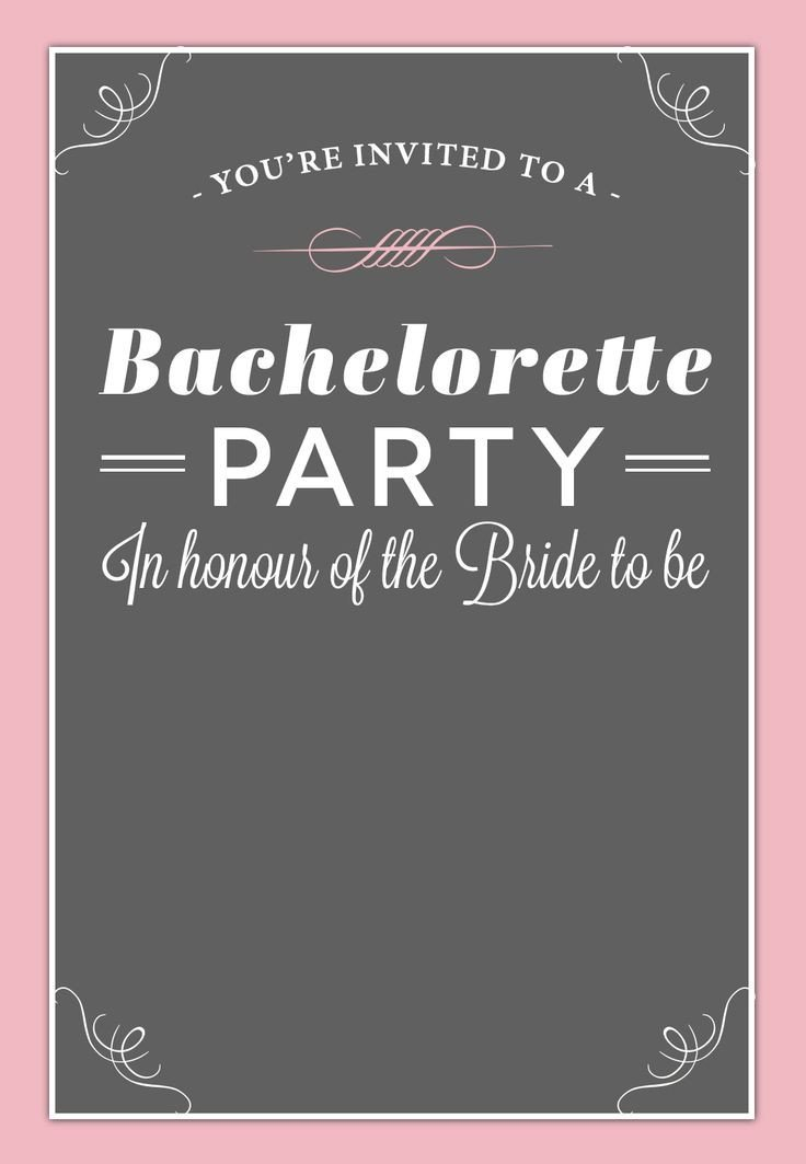 18 best Free Bachelorette Party Invites images on