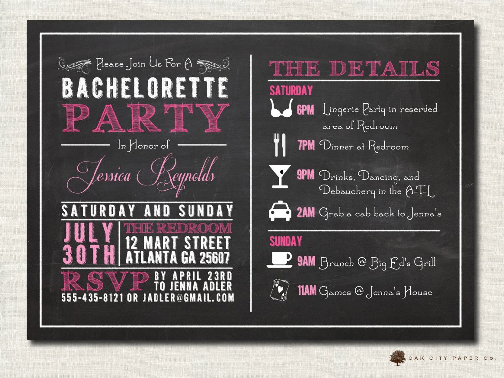 Bachelorette Party Invitations Template Free Bachelorette Invitation Bachelorette Party Invitation