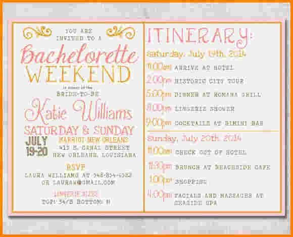 Bachelorette Party Itinerary Template 17 Best Ideas About Bachelorette Itinerary On Pinterest