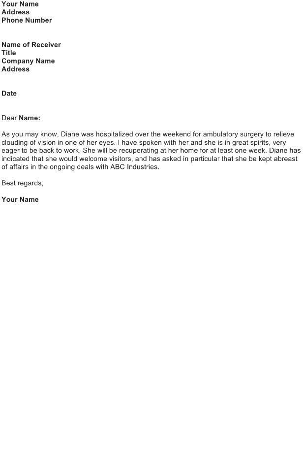 Sympathy Letter Sample Download FREE Business Letter