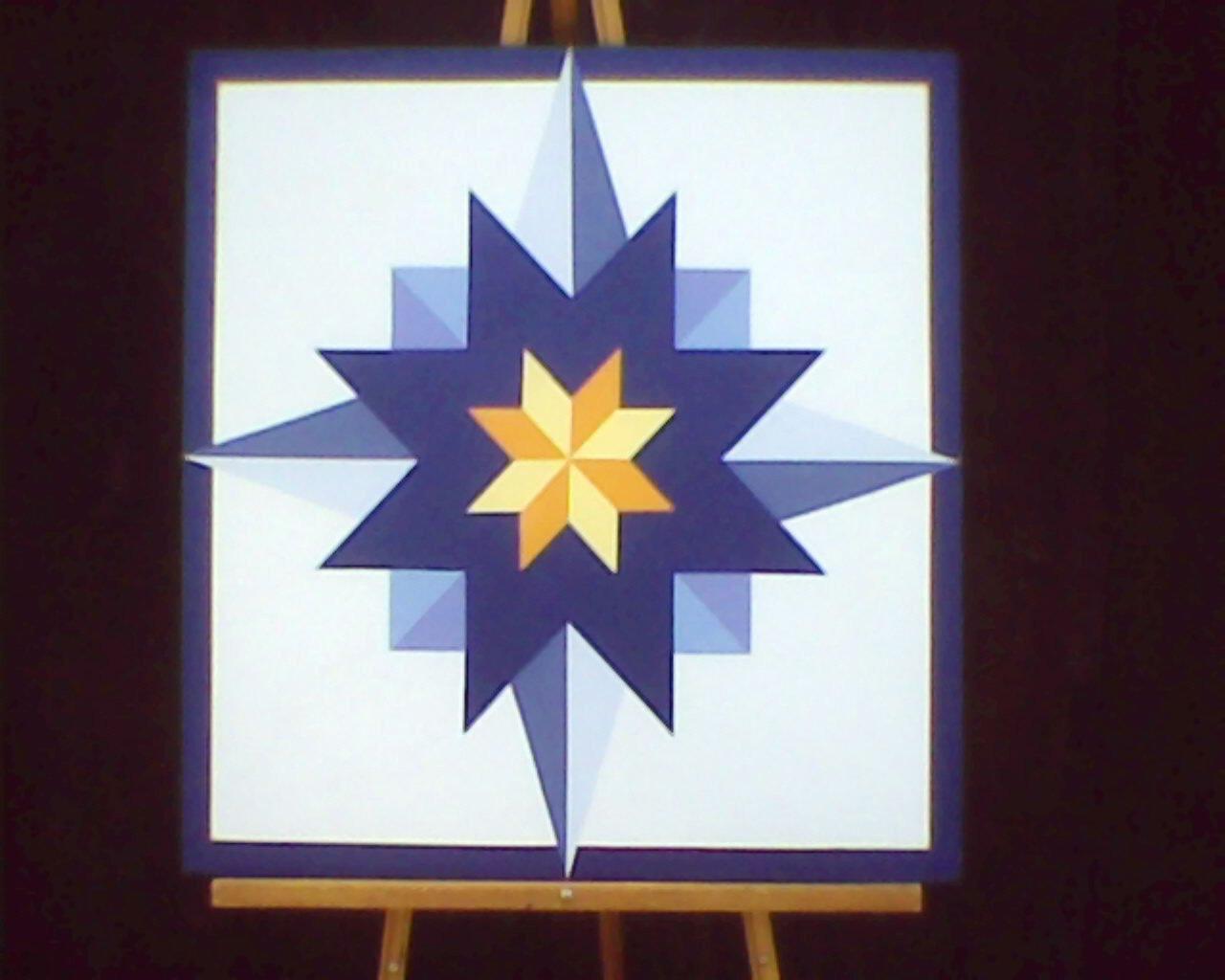 Barn Star Template 2 X 2 Barn Quilt Star Pattern