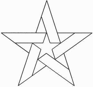 Barn Star Template 7 Best Templates Images On Pinterest