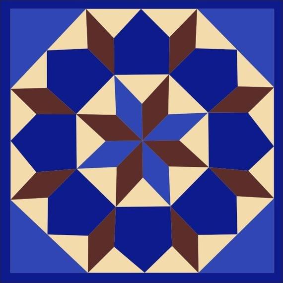Barn Star Template Items Similar to Barn Quilt Star Of Bethlehem Pattern 2