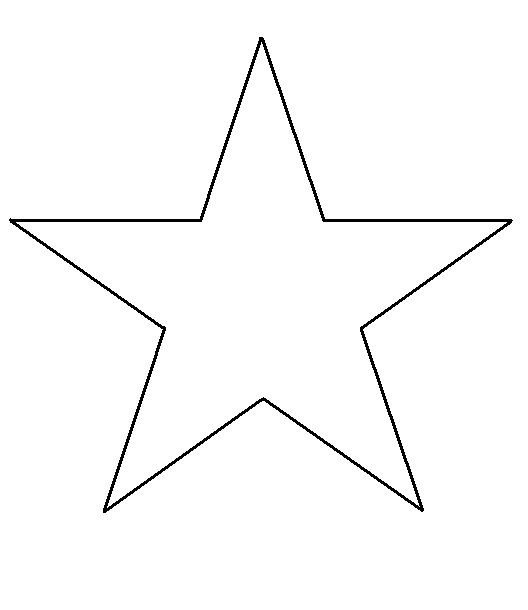 Barn Star Template the 25 Best Star Template Ideas On Pinterest