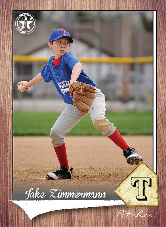 Baseball Card Template Photoshop 16 Baseball Card Templates Psd Ai Eps