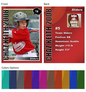 Baseball Card Template Photoshop New Template Set Trading Cards Shop Elements