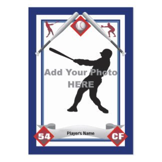 Baseball Card Template Word How to Make A Baseball Card Template Ehow