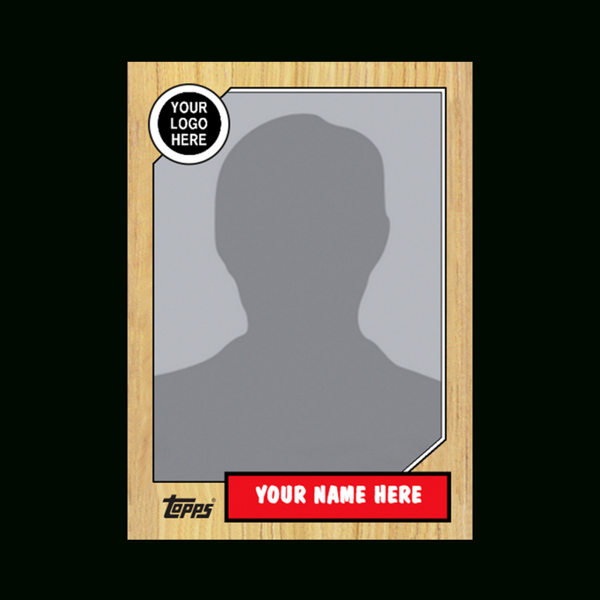 Baseball Card Template Word Trading Card Template 2017