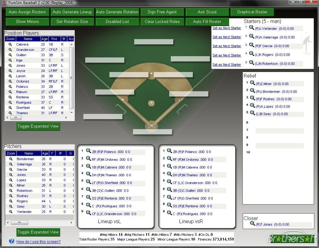 Baseball Depth Chart Template Baseball Depth Chart Template – Invigo