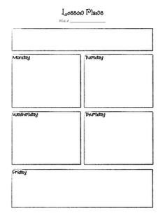 Basic Lesson Plan Template 10 Best Of High School Class Planning Worksheet
