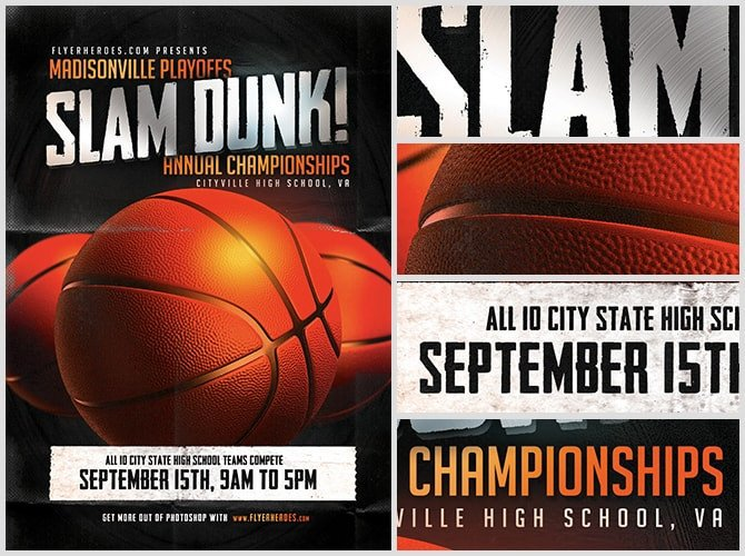 Basketball Flyer Template Free 15 Basketball Flyer Templates Excel Pdf formats