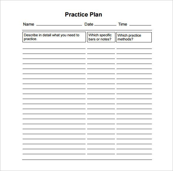 Basketball Practice Plan Templates 11 Practice Schedule Templates Doc Pdf