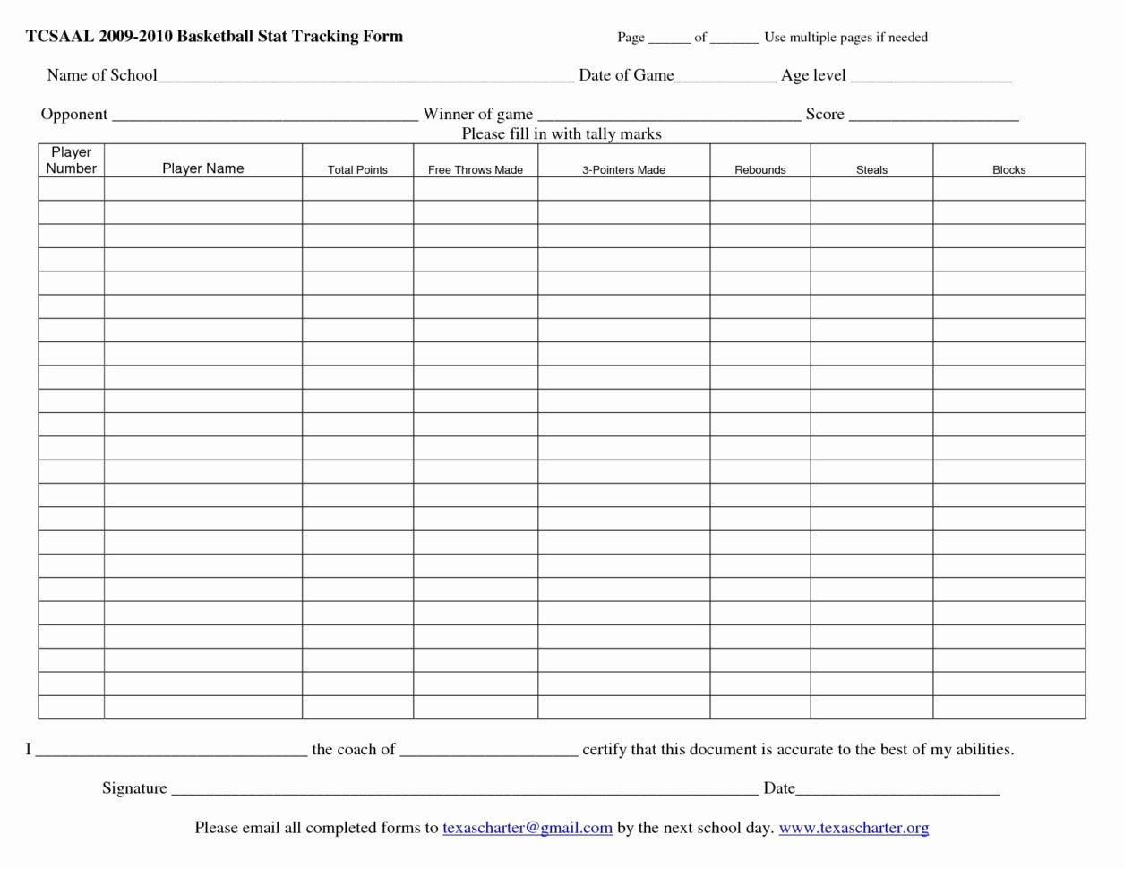 Basketball Stat Sheet Excel Basketball Stats Spreadsheet Google Spreadshee Basketball