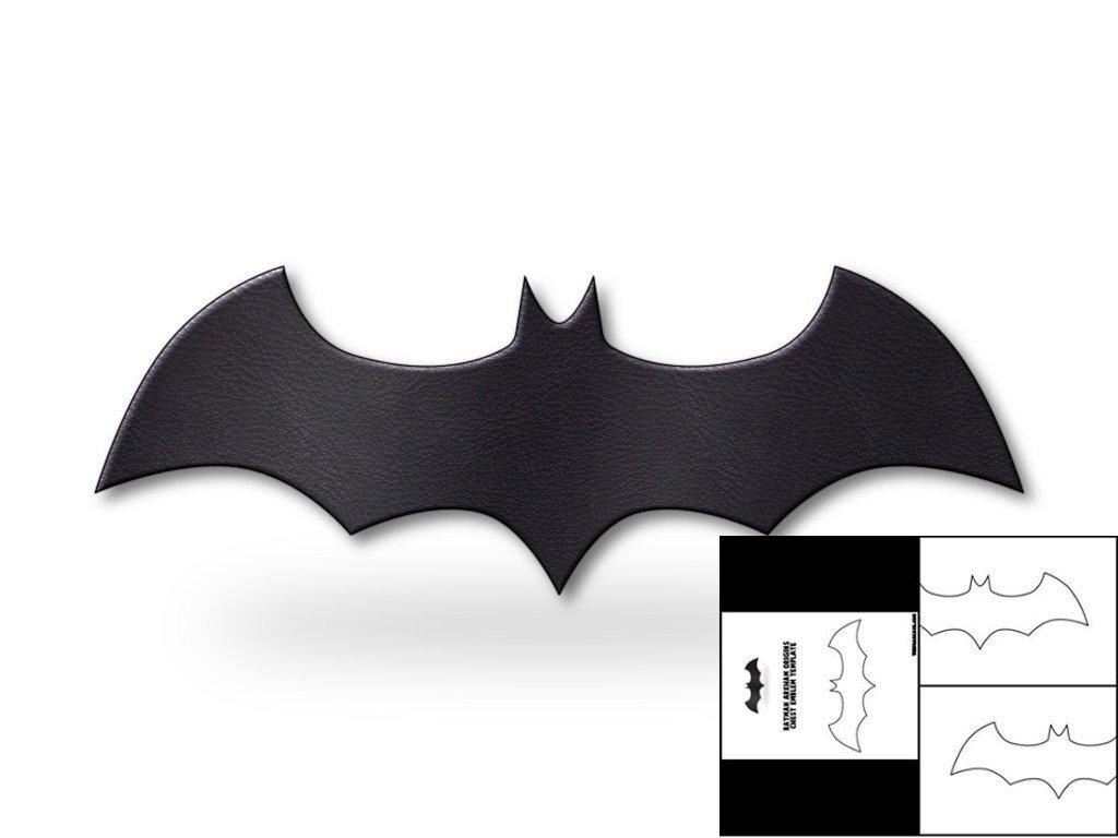 Batarang Template Pdf Template for Batman Arkham origins Chest Emblem – the Foam