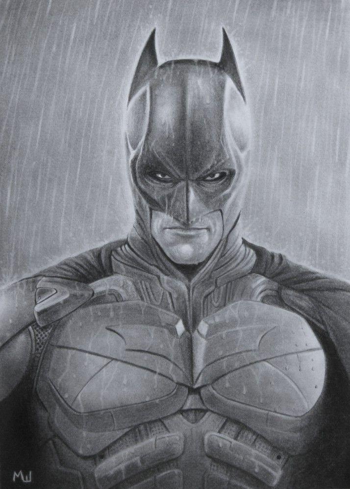 Pencil Drawing of Batman Batman party