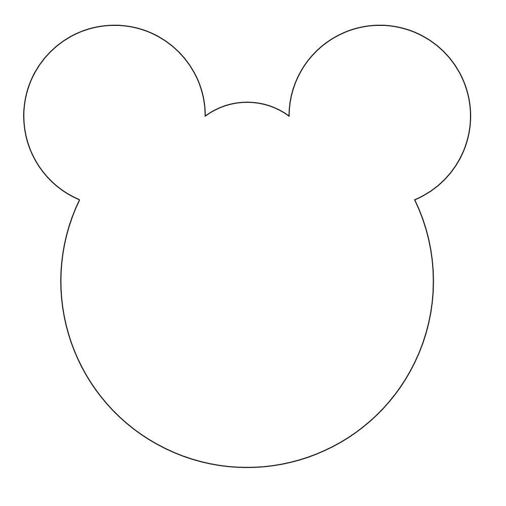 early play templates Teddy Bear Mask templates to print out