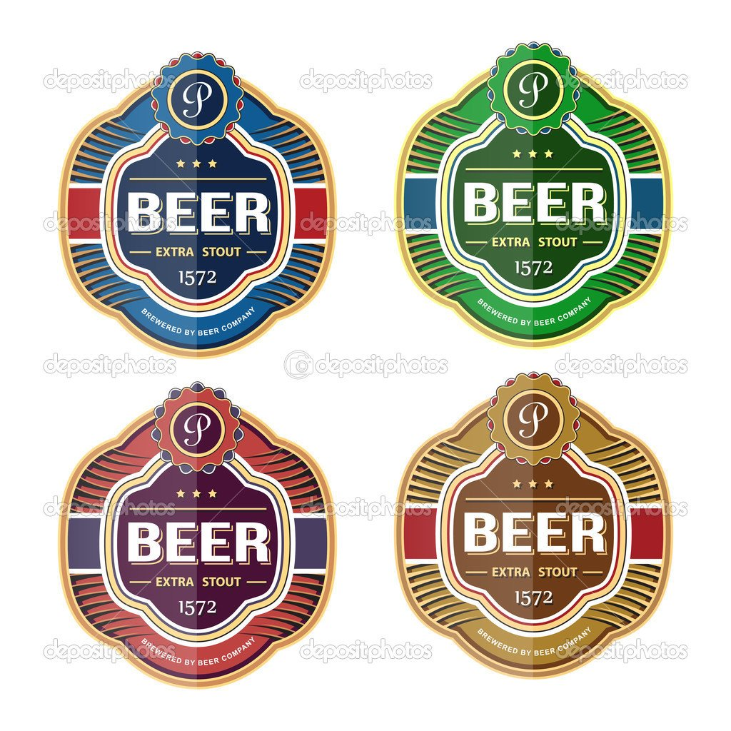 Beer Bottle Label Template Beer Label Template