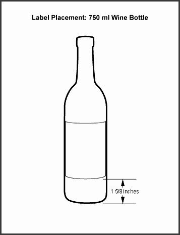 Beer Label Template Illustrator 6 Beer Bottle Label Template Illustrator
