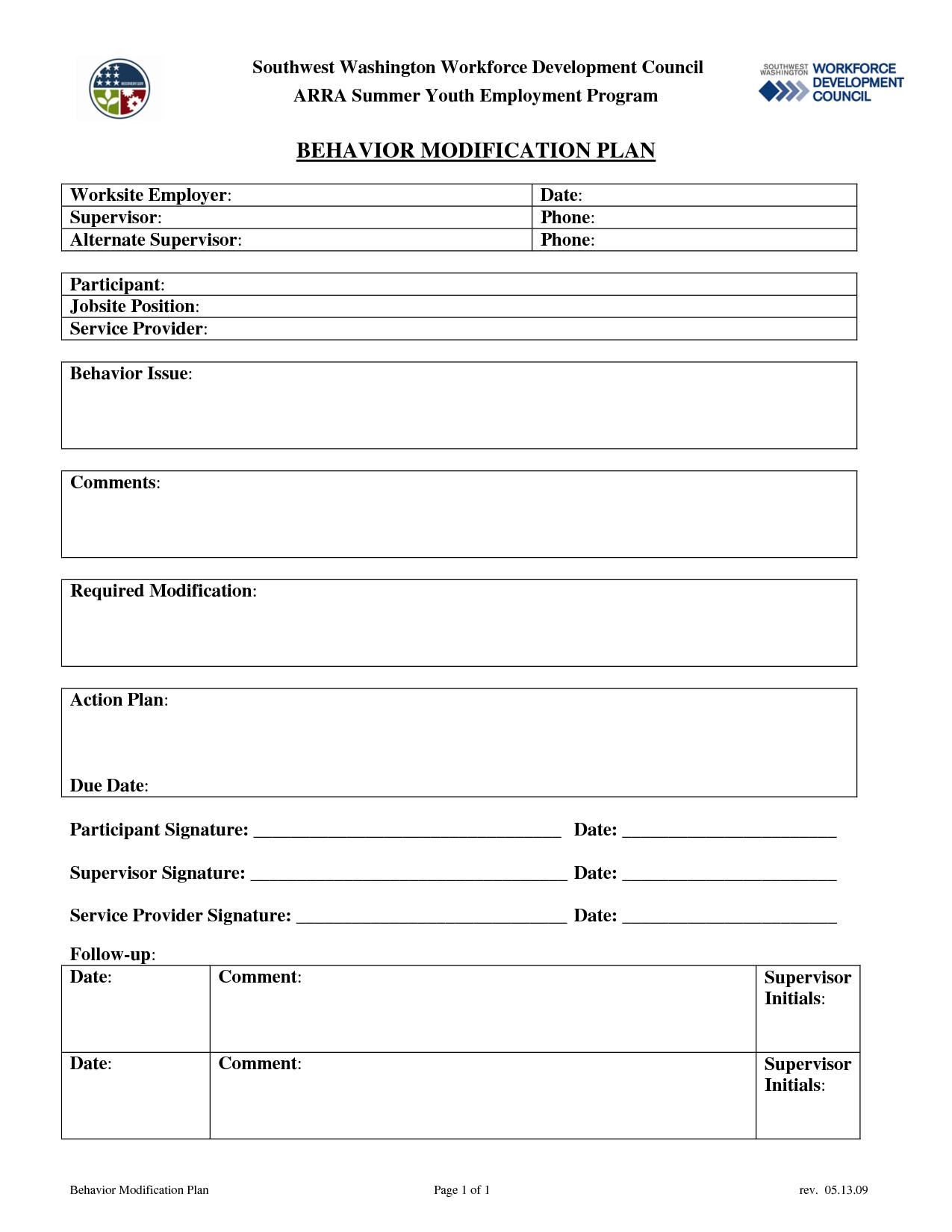 Behavior Modification Plan Example 14 Best Of Behavior Modification Worksheets