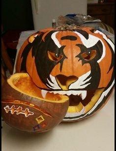 Bengals Pumpkin Carving Stencils Cincinnati Bengals Stencil