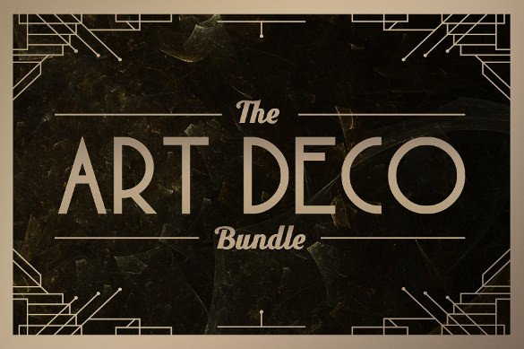 20 Most Beautiful Art Deco Fonts to Inspire You TTF
