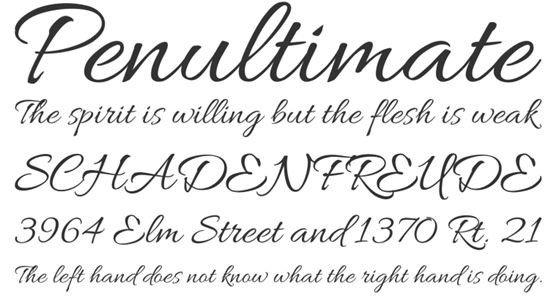 Best Cursive Tattoo Fonts 21 Awesome Free Cursive Tattoo Fonts