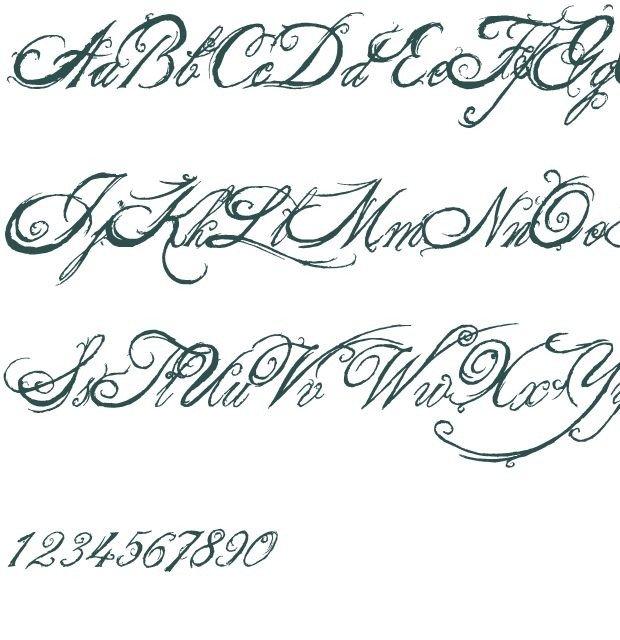 Best Cursive Tattoo Fonts 47 Best Images About Cursive On Pinterest