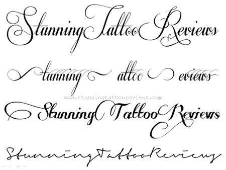 Best Cursive Tattoo Fonts Best 25 Tattoo Fonts Cursive Ideas On Pinterest
