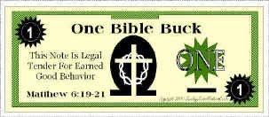 Bible Bucks Template Bible Bucks Classroom Incentive for Good Behavior
