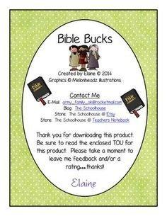 Bible Bucks Template My Bible and Wel E to On Pinterest