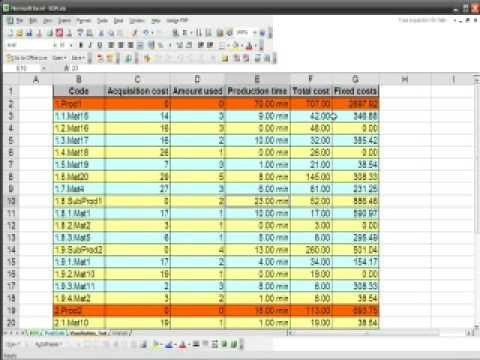 Bill Of Materials Excel Template Bom Bill Materials In Excel
