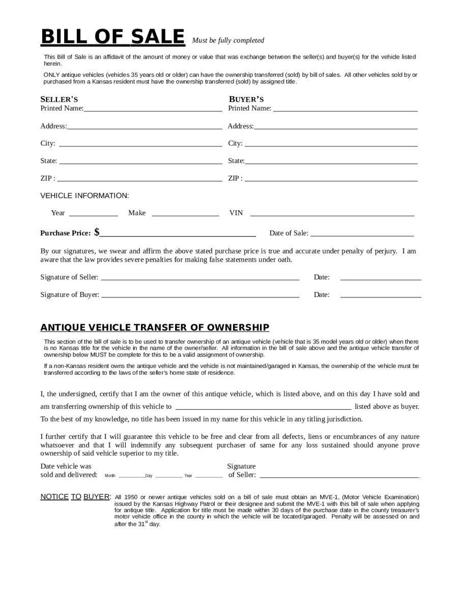 Bill Of Sale Images 2019 Dmv Bill Of Sale form Fillable Printable Pdf