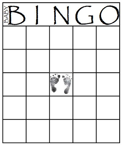 49 Printable Bingo Card Templates Baby shower