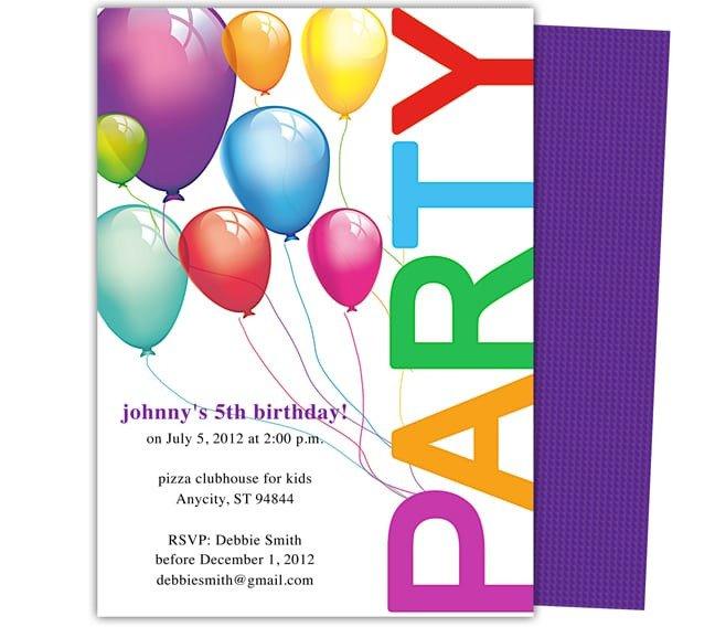 Birthday Invitation Templates Word 5 Birthday Invitation Templates Word Excel Pdf Templates