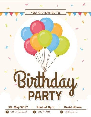 Birthday Invitation Templates Word 60 Free Diy Printable Invitation Templates In Word