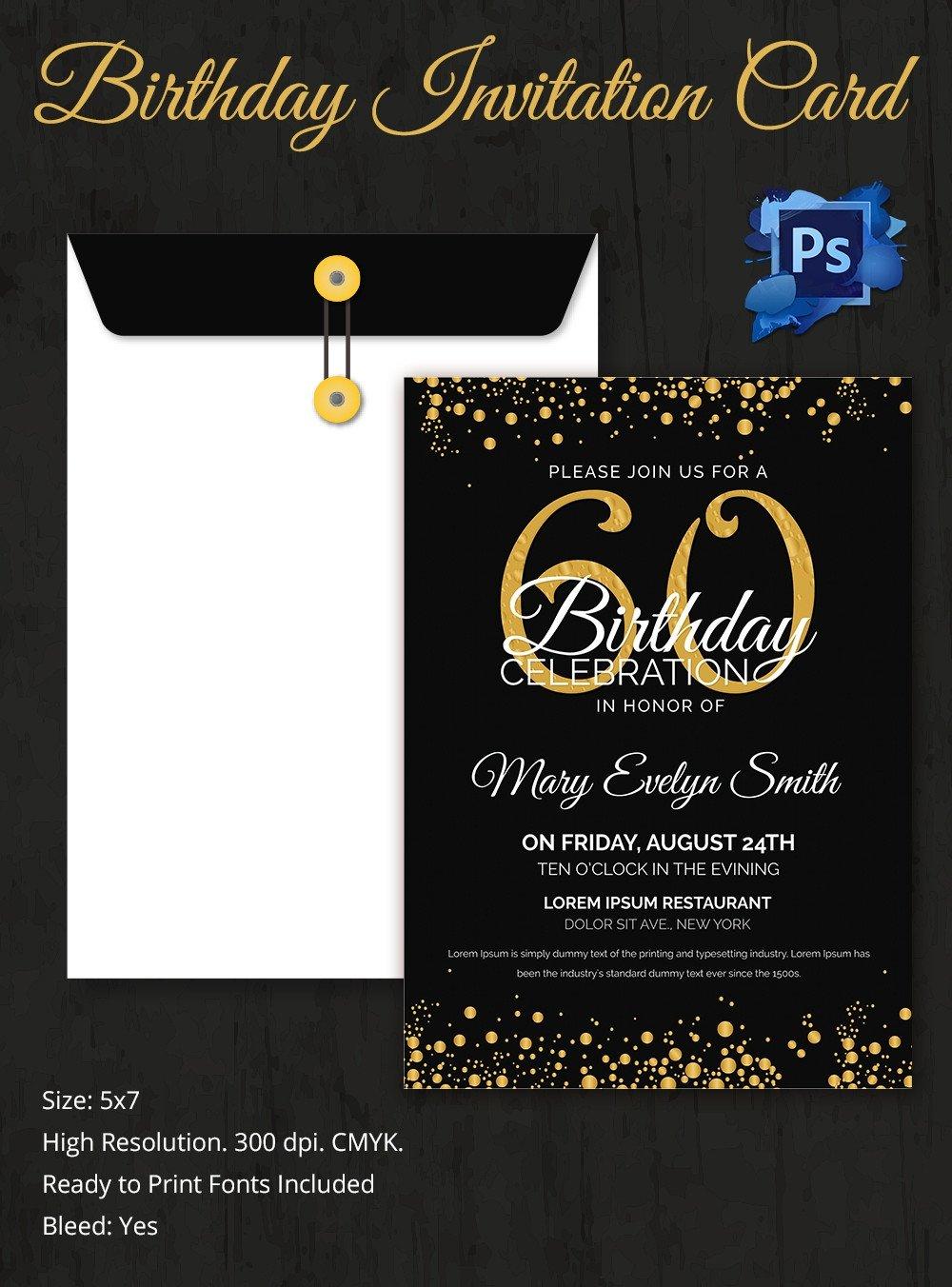Birthday Invitation Templates Word Birthday Invitation Template 32 Free Word Pdf Psd Ai