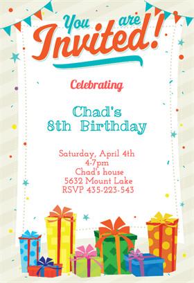 Birthday Invitation Templates Word Birthday Invitation Templates Birthday Invitation