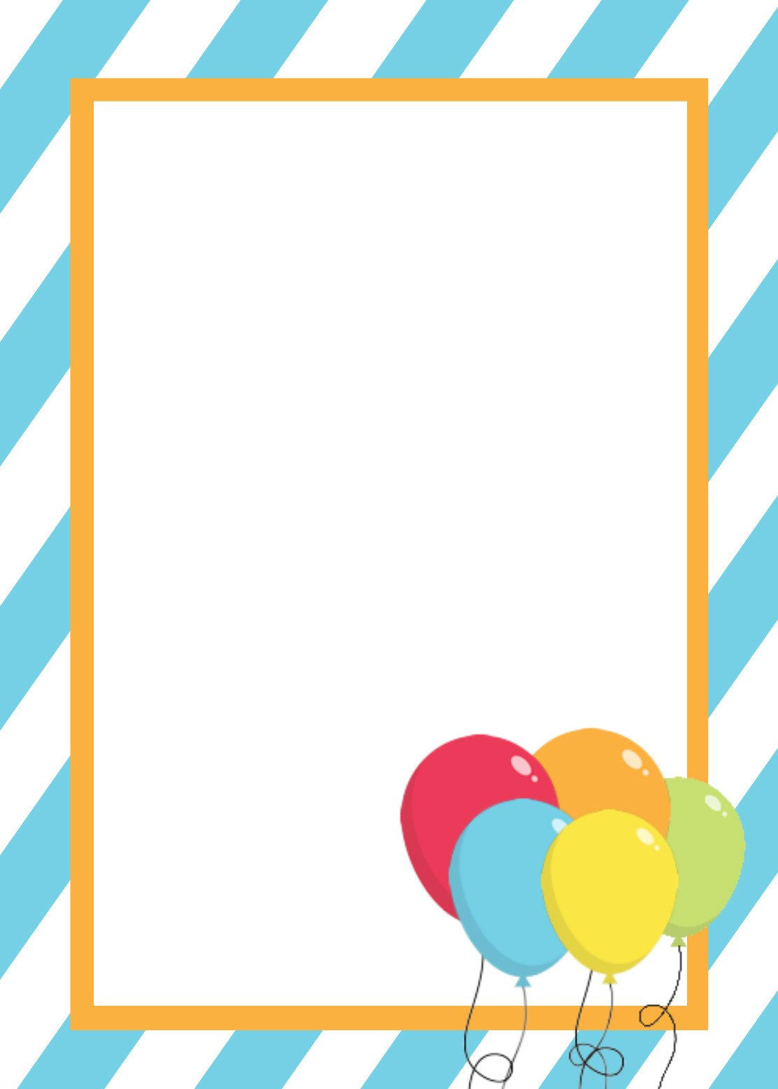 Birthday Invitation Templates Word Free Printable Birthday Invitation Templates